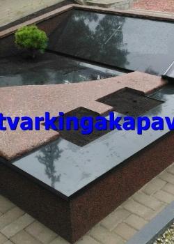 Kymen Red ir juodas Karelijos granitas