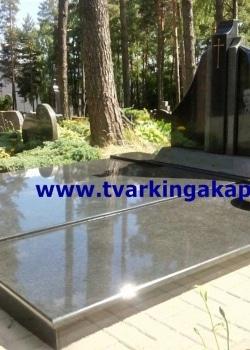 Impala ir juodas Karelijos granitas